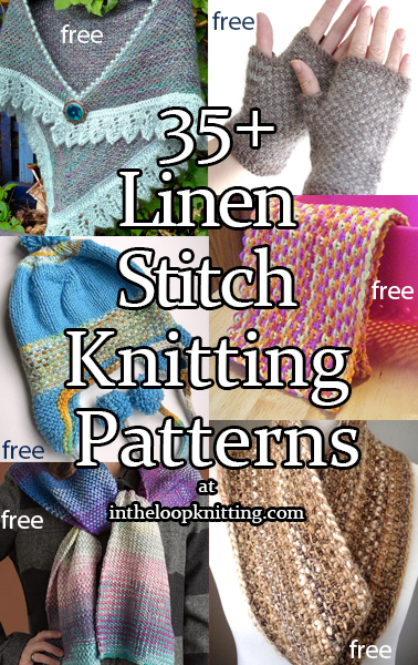 Linen Stitch Knitting Patterns In The Loop Knitting